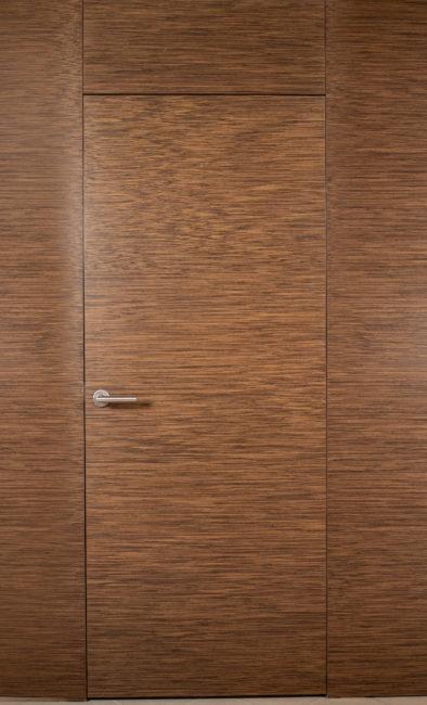 Двери в скрытой алюминиевой коробке