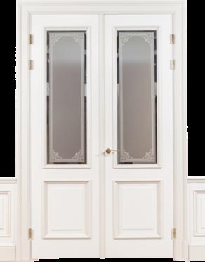 Koka durvis paneļos