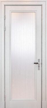 Koka durvis metāla kārbā