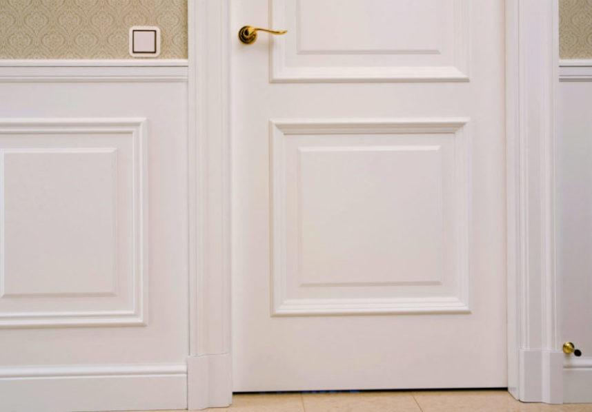 Daudzveidīga iespējamā durvju apdare